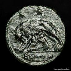 Monedas Imperio Romano: URBS ROMA, Æ FOLLIS ACUÑADO EN TESALONICA SMTS? LOBA, ROMULO Y REMO. Lote 172371845