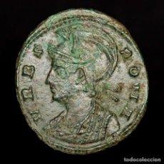 Monedas Imperio Romano: URBS ROMA, FOLLIS ACUÑADO EN CONSTANTINOPLA CONS? LOBA ROMULO Y REMO. Lote 172395725