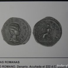 Monedas Imperio Romano: ESCASO DENARIO DE PLATA, JULIA SOEMIAS, 2,45 GR, EBC-, COMPRADO EN SUBASTA MARTI HERVERA. Lote 172660337