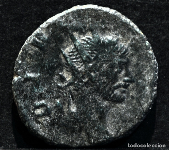 Monedas Imperio Romano: ANTONINIANO CLAUDIO II EL GOTICO CONSECRATIO 268-270 D.C - Foto 2 - 172712369