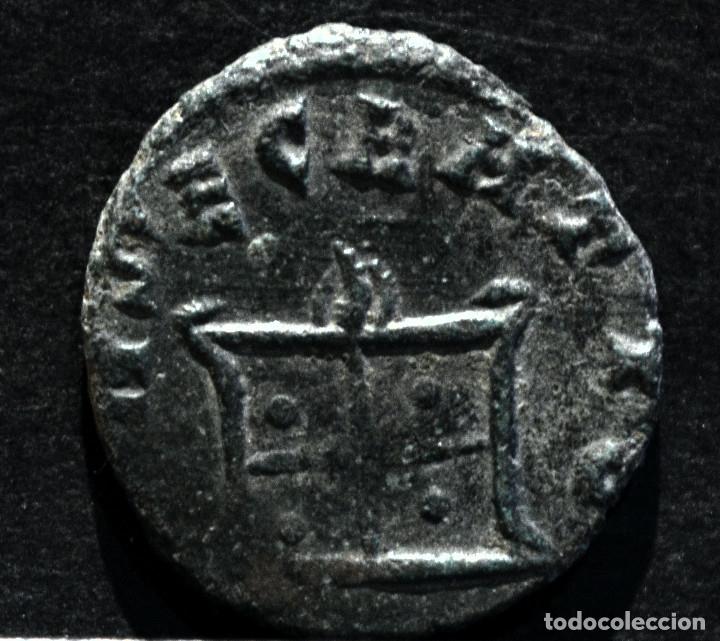 Monedas Imperio Romano: ANTONINIANO CLAUDIO II EL GOTICO CONSECRATIO 268-270 D.C - Foto 3 - 172712369