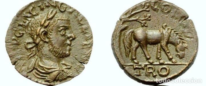 ALEJANDRÍA (TROAS). VOLUSIANUS (251-253 DC) (Numismática - Periodo Antiguo - Roma Imperio)
