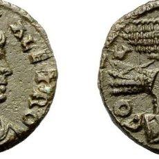 Monedas Imperio Romano: ALEJANDRÍA (TROAS). TYSE. AE 21 .REV. AGUILA SOBRE CABEZA DE TORO... Lote 172822130