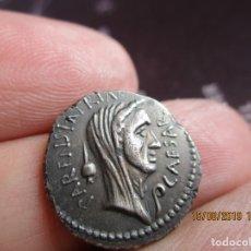 Monedas Imperio Romano: DENARIO DE JULIO CESAR, CABEZA CON VELO , DRAMATICO BUSTO. Lote 173855104