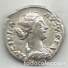 Monedas Imperio Romano: LUCILA - DENARIO - ROMA 163 / 169 D.C. - MBC+.. Lote 174088737