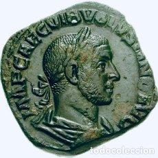 Monedas Imperio Romano: MONEDA ROMANA IMPERIAL IMPERIO BELLO SESTERCIO VOLUSIANO (251-253 DC) ROMA - EX-CNG. Lote 174094903