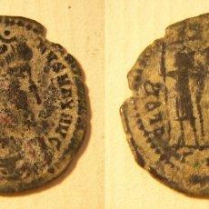 Monedas Imperio Romano: MONEDA ROMANA DEL EMPERADOR CONSTANTINO I REVERSO GLORIA EXERCITUS . Lote 174208994