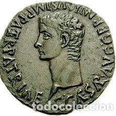 Monedas Imperio Romano: PRECIOSA MONEDA ROMANA ROMA IMPERIAL IMPERIO BRONCE ESPAÑA ZARAGOZA AS GAIUS - CALIGULA 137-41 DC. Lote 174233472