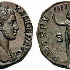 Monedas Imperio Romano: PRECIOSA MONEDA ROMANA ROMA IMPERIAL IMPERIO SESTERCIO BRONCE ALEJANDRO SEVERO REV. SOL. Lote 174494428