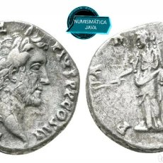 Monedas Imperio Romano: DENARIO ANTONINO PIO ! 3GR 17MM. Lote 175075412