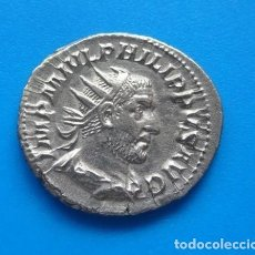 Monedas Imperio Romano: IMPERIO ROMANO - AR ANTONINIAN, PHILIPPUS I. ARABS (244-249) - ROMA - PLATA. Lote 175320724