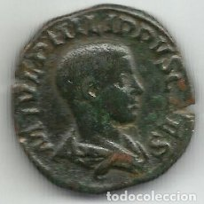 Monedas Imperio Romano: SESTERCIO DE FILIPO II - PRINCIPI IVVENT - 247 / 249 D C. - MBC+. Lote 175666143