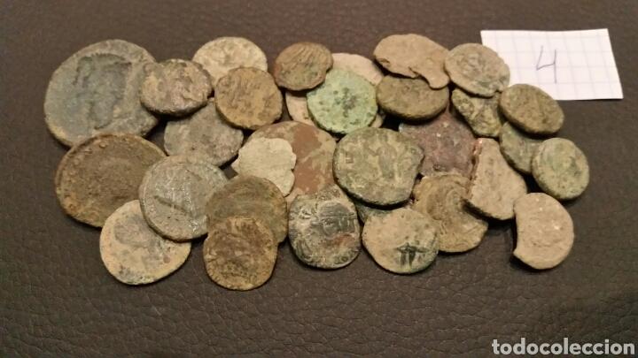 Monedas Imperio Romano: LOTE (4) 30 MONEDAS ROMANAS BAJO IMPERIO. - Foto 2 - 176599142
