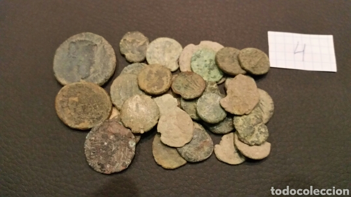 Monedas Imperio Romano: LOTE (4) 30 MONEDAS ROMANAS BAJO IMPERIO. - Foto 3 - 176599142