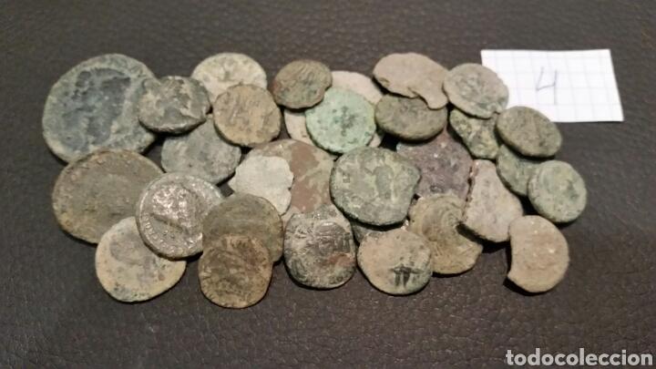 LOTE (4) 30 MONEDAS ROMANAS BAJO IMPERIO. (Numismática - Periodo Antiguo - Roma Imperio)