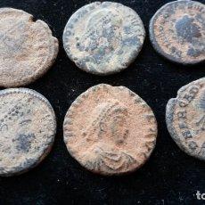 Monedas Imperio Romano: CHIRRAPAS A LIMPIAR 5. Lote 177582635