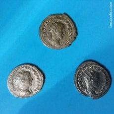 Monedas Imperio Romano: LOTE 3 ANTONINIANOS ROMANOS DE PLATA OPORTUNIDAD. Lote 39898177