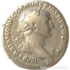 Monedas Imperio Romano: TRAJANO. DENARIO DE TRAJANO. MBC-/MBC. RIC 291. Lote 177785794