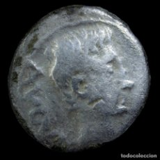 Monedas Imperio Romano: QUINARIO DE AUGUSTO, EMERITA AUGUSTA (MÉRIDA) - 13 MM / 1.63 GR.. Lote 178113235