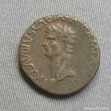 Monedas Imperio Romano: AS DE CLAUDIO MINERVA- ROMA. Lote 195168341