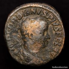 Moedas Império Romano: GORDIANO III (238-244) SESTERCIO. ROMA. P M TR P IIII COS II P P.. Lote 178210562