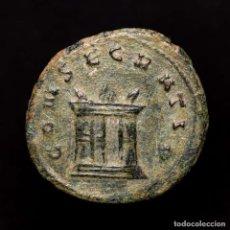 Monedas Imperio Romano: DIVO CLAUDIO II (268-270) ANTONINIANO ROMA CONSECRATIO ALTAR (9457). Lote 178221471