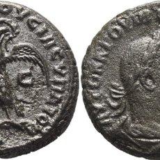 Monedas Imperio Romano: SELEUCIA PIERIA (ANTIOQUÍA). TREBONIANUS GALLUS, 251-253. TETRADRACMA. SÓLO SE CONOCEN 2! EBC. Lote 178386481