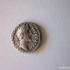 Monedas Imperio Romano: DENARIO DE ANTONINO PIO. EMPERADOR CON PÁTERA. PLATA.. Lote 178582912