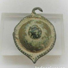 Monedas Imperio Romano: MEDALLA APLIQUE ROMANO EMPERADOR BRONCE.. Lote 178841390