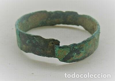 ESPECTACULAR PULSERA ROMANO SERPIENTE BRONCE. (Numismática - Periodo Antiguo - Roma Imperio)