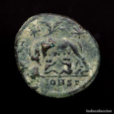 Monedas Imperio Romano: URBS ROMA FOLLIS CONSTANTINOPLA, LOBA, ROMULO Y REMO ✯PALM✯ (9362). Lote 179183210