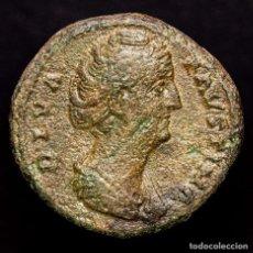 Monedas Imperio Romano: DIVA FAUSTINA I (+141 AD). AS DE BRONCE. ROMA. CERES/ S-C, CERES.. Lote 179529397