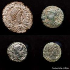 Monedas Imperio Romano: LOTE DE 4 BRONCES DEL IMPERIO ROMANO (9372). Lote 179960837