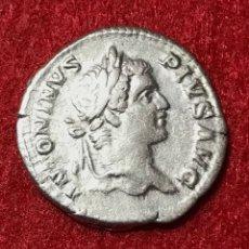 Monedas Imperio Romano: DENARIO DE CARACALLA - 206 D.C - 3,34G AG - MBC. Lote 180015280
