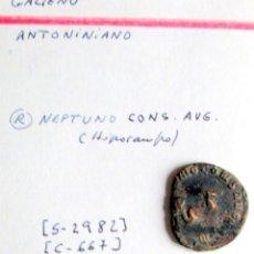 Monedas Imperio Romano: GALLIENVS - ANTONINIANO -NEPTUNO (HIPOCAMPO). Lote 180158986