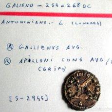Monedas Imperio Romano: GALLIENVS - ANTONINIANO - APOLLONI (GRIFO(. Lote 180159181