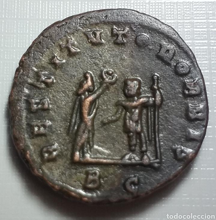 Monedas Imperio Romano: AURELIANO. (ANTONINIANO.MONEDA IMPERIO ROMANO) {270-275 d.C. CYZICUS} RESTITVTOR ORBIS. - Foto 2 - 180220141