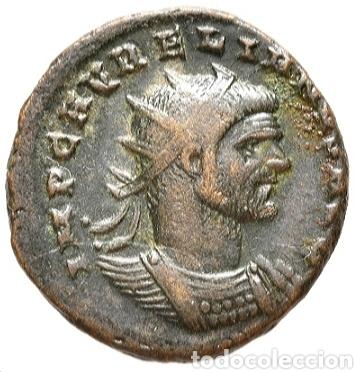 Monedas Imperio Romano: AURELIANO. (ANTONINIANO.MONEDA IMPERIO ROMANO) {270-275 d.C. CYZICUS} RESTITVTOR ORBIS. - Foto 7 - 180220141