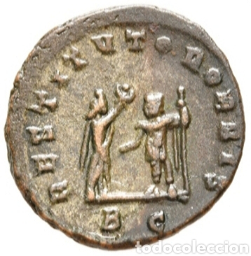 Monedas Imperio Romano: AURELIANO. (ANTONINIANO.MONEDA IMPERIO ROMANO) {270-275 d.C. CYZICUS} RESTITVTOR ORBIS. - Foto 8 - 180220141