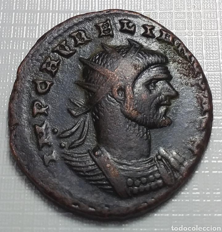 AURELIANO. (ANTONINIANO.MONEDA IMPERIO ROMANO) {270-275 D.C. CYZICUS} RESTITVTOR ORBIS. (Numismática - Periodo Antiguo - Roma Imperio)