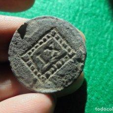 Monedas Imperio Romano: MUY CURIOSA FICHA DE JUEGO ROMANA EN COBRE , MARCA IX. Lote 180265832