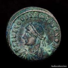 Monedas Imperio Romano: CONSTANCIO II CESAR FOLLIS HERACLEA PROVIDENTIAE CAESS SMHΓ• (8218). Lote 180321688