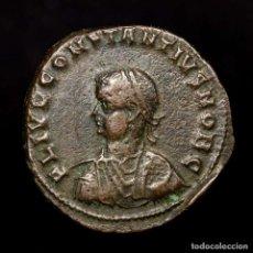 Monedas Imperio Romano: CONSTANCIO II CESAR FOLLIS ANTIOQUIA PROVIDENTIAE CAESS SMANTH (8227. Lote 180331206