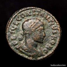 Monedas Imperio Romano: CONSTANCIO II CESAR FOLLIS ARLES PROVIDENTIAE CAESS Q✯AR (8228). Lote 180335771