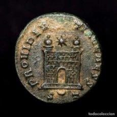 Monedas Imperio Romano: CONSTANCIO II CESAR FOLLIS TICINUM PROVIDENTIAE CAESS S◡T (8229). Lote 180336726