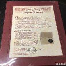 Monedas Imperio Romano: AUTÉNTICA MONEDA DEL IMPERIO ROMANO- LOTE 1. Lote 181426493