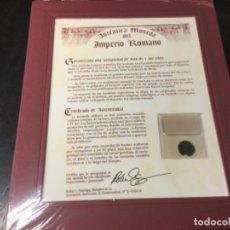 Monedas Imperio Romano: AUTÉNTICA MONEDA DEL IMPERIO ROMANO- LOTE 3. Lote 181427091