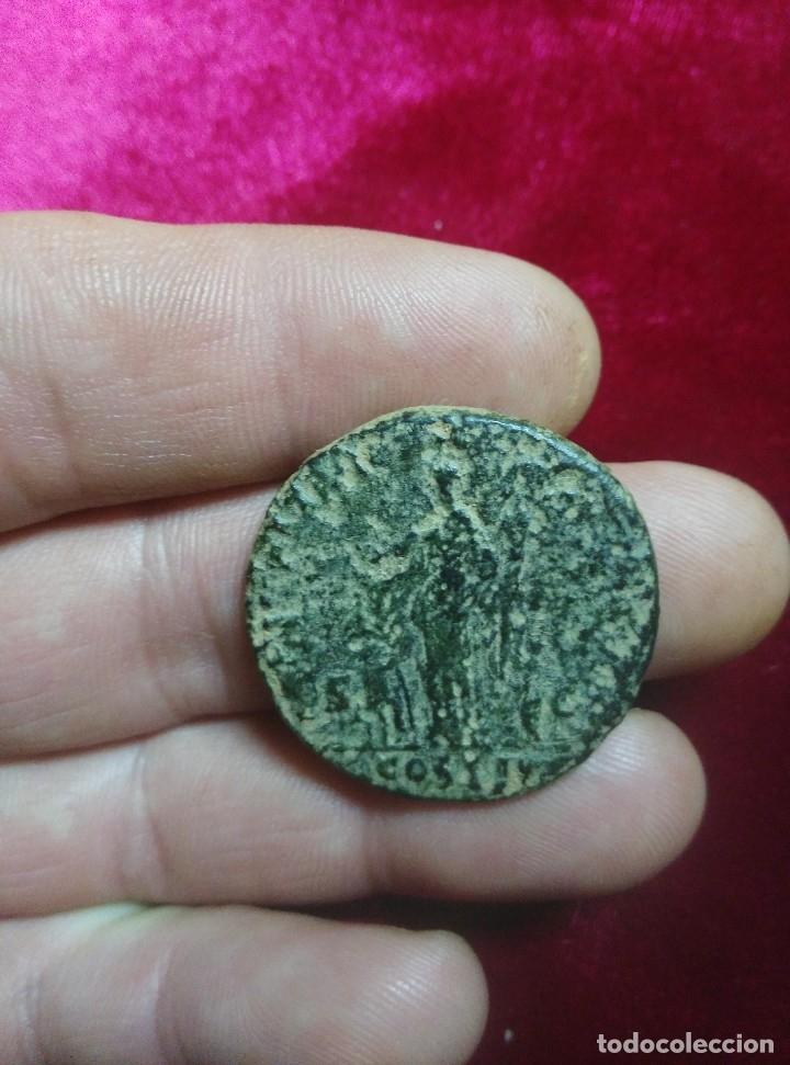 Monedas Imperio Romano: Gran Septercio de Adriáno. - Foto 2 - 181812981