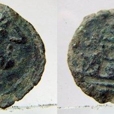 Monedas Imperio Romano: MONEDA ROMANA SEMIS. CABEZA DE SATURNO. REVERSO PROA NAVE. Lote 182051671
