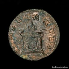 Monedas Imperio Romano: DIVO CLAUDIO II (268-270) ANTONINIANO ROMA CONSECRATIO ALTAR (8796). Lote 182216333